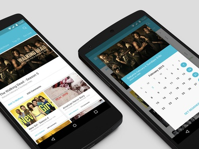 Wave with Material Design