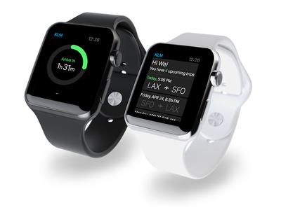 KLM on Apple Watch