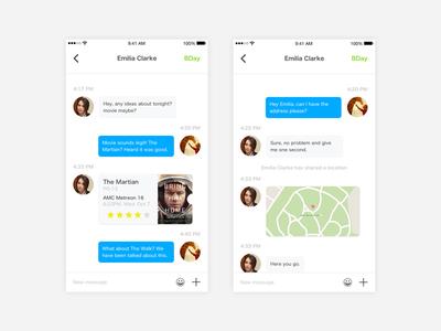 Message App design sprint - 1