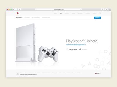 PlayStation 2 Remastered Website
