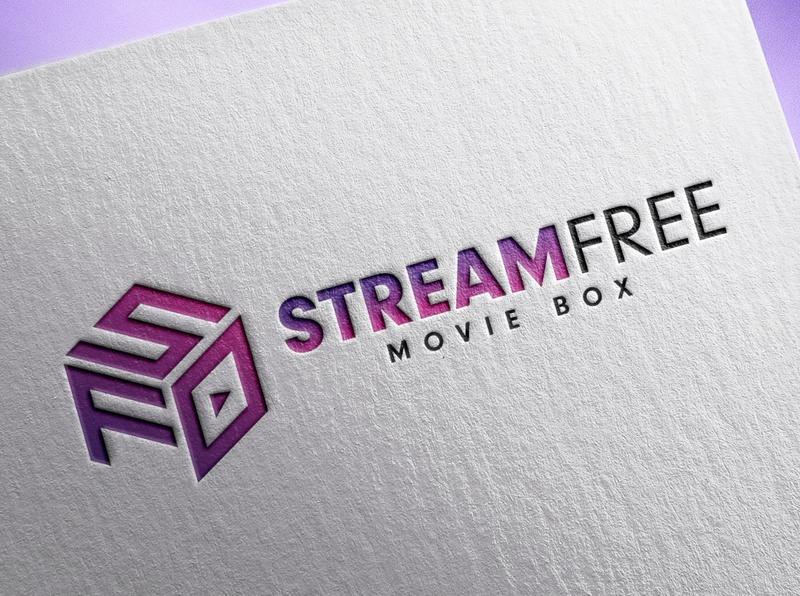 // StreamFree Movie Box Logo Design/Branding