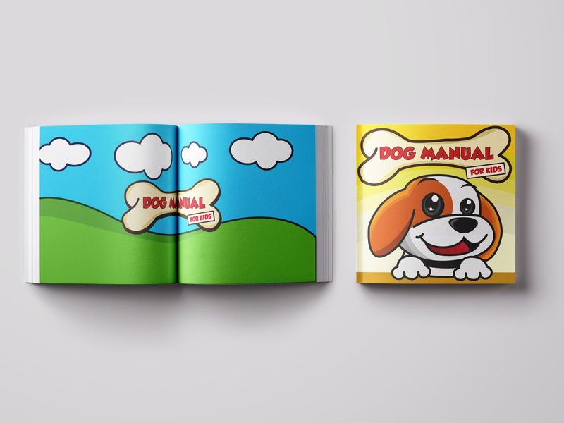 // Dog Manual for Kids Book Cover