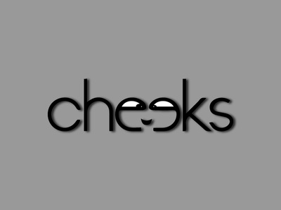 Cheeks Logo vector brand identity design logo funny logo unique logo logo design
