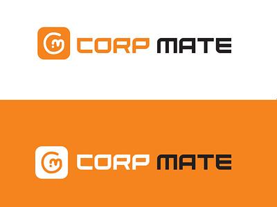 Corp Mate logo trading logo logo design vector business logo illustration new logo design unique logo typography logodesign brand identity