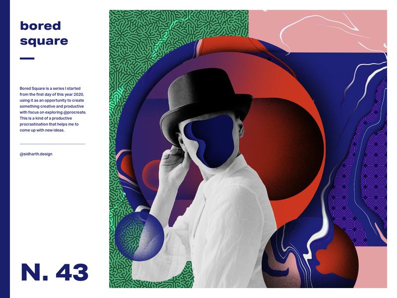 Hubris     Square no. 43 artwork digital graphic liquid circle design digitalart collage poster art poster procreate ego
