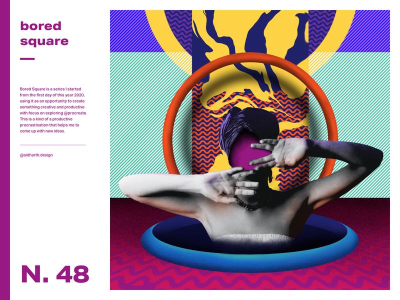 Vigorous series art poster series faceless face bored artwork digital art abstract poster photo circle