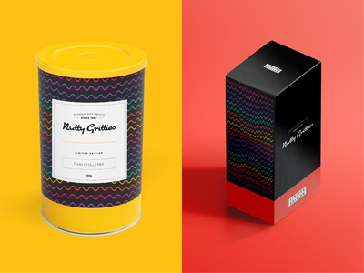 Nutty Gritties | Packaging for Limited Edition Packs