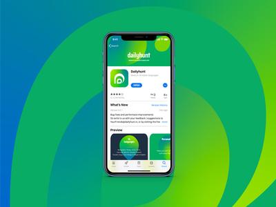 DailyHunt  |  App Design Exploration