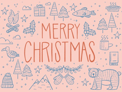 PNW Christmas Card