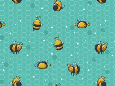 Honigbienchen Muster