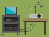 Projector props