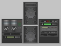Audio props