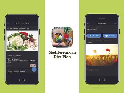 Mediterranean Diet Plan iphone app diet app mobile app