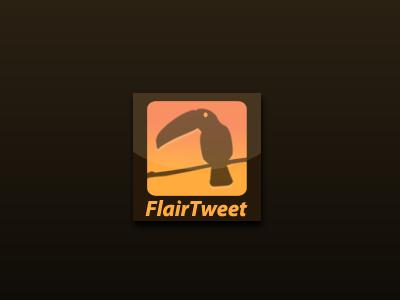Twitter account app. (2010)