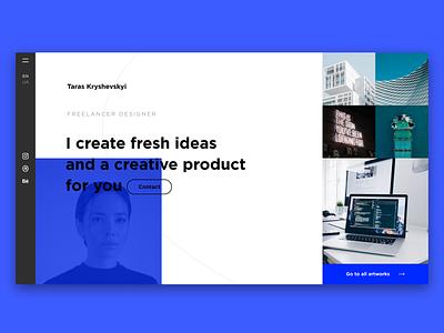 Web Design my web site branding web typography ux design