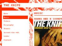 The Knife website