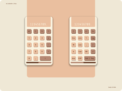 Daily UI 004 | Calculator mobile design mobile ui mobile numbers calculator design calculator app calculator ui calculator app android app ui design figma daily ui dailyuichallenge ui design vector