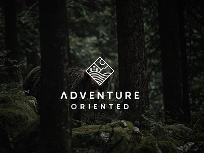 adventure typography graphic design flat icon vector branding logo illustration design minimal