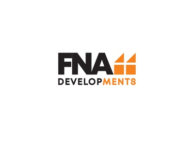 FNA monogram logo typography vector logo illustration icon graphic design flat design branding minimal