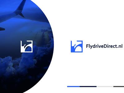 FlydriveDirect travel logo logodesign logo designer logo design cool logo modern logo business logo minimalist logo flat icon logo graphic design design minimal