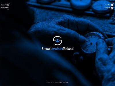 Smartwatch Logo Design smartwatch logo watch logo modern logo minimalist logo cool logo business logo logo icon graphic design flat design minimal
