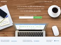 New ContaAzul homepage