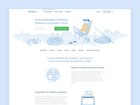 Contaazul Features Page