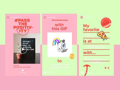 PTP Social branding story instagram positive template