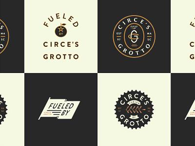 Cycling Team Badges flag bike tomato monogram identity logo icon logotype badge cycle cycling