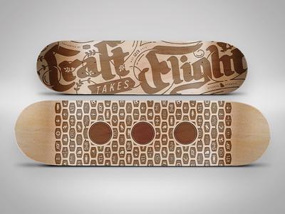 Skateboard Beer Flight