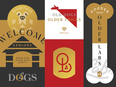 older labs are gooder dogs typography retriever puppy puppies old logo labrador dog dogs labs older