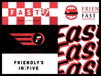 faster service since now logotype refresh identity branding typography lettering friendlys