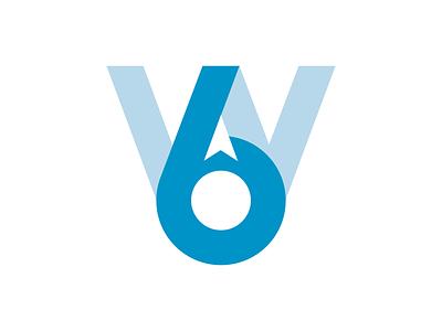 6W Logo Concept 6w atlanta vector typography illustration design identity logo design logo branding