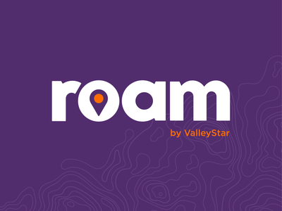 Roam Logo georgia atlanta typography design identity logo logo design branding