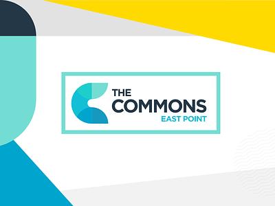 The Commons Logo georgia atlanta illustration typography design identity logo logo design branding