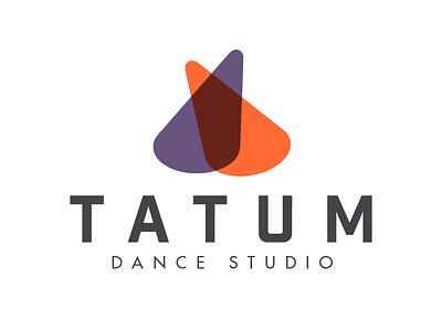 Tatum Dance Logo logo design branding