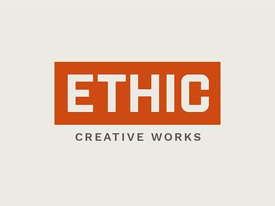 Ethic Logo logo design branding