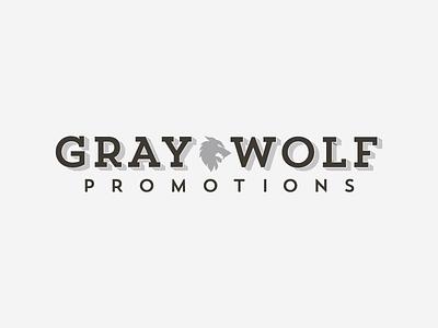 Gray Wolf identity branding logo