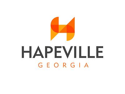 Hapeville Logo Concept southsideatl hapeville georgia atlanta vector typography illustration design identity logo design logo branding