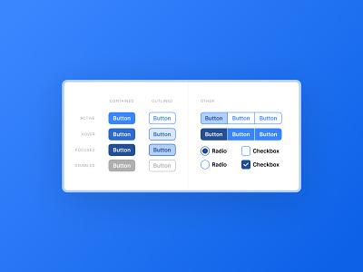 Button - DailyUI 083 083 design system button design button ui daily ui design