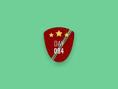 Badge - DailyUI 084 084 badge branding logo daily ui design