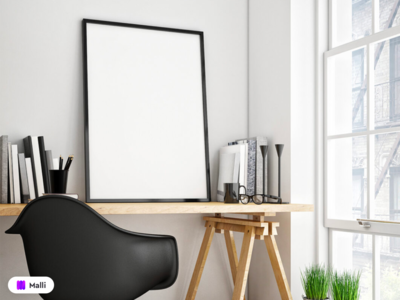 Free Picture Frame on Table Mockup psd download psd template psd design psd mockup psd design clean design clean branding frame download mockup mockups mock-up mockup design mockup template free mockup psd freebies freebie mockup