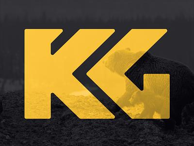 King Grizzly marketing western grizzly bear king grizzly mark logo identity brand