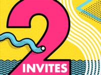 2 Dribbble Invites — Brian Erickson