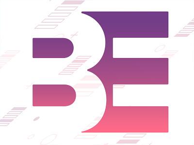 Brian Erickson Co Mark gradient letters e b identity branding brand personal brand logotype negative space