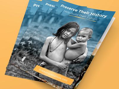 Sumba Foundation Needs List design nonprofits non-profit organization print design brochure mockup brochure indonesia nonprofit non-profit non profit