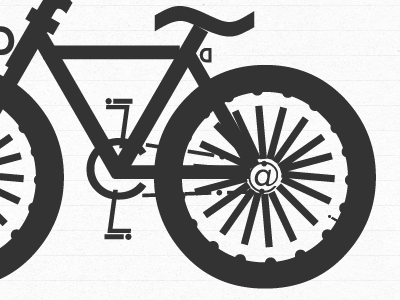 """""""I love to ride my bicycle..."""" :) fireworks typography fun"""