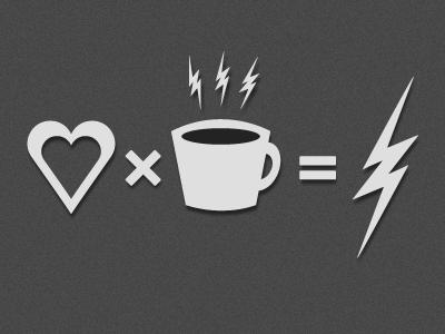 Equation II :-) fireworks fun thunderbolt heart coffee film noir equation movies movie