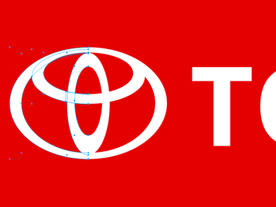 Playing with logos :) toyota experiment logo vectors illustration gravitapp gravit