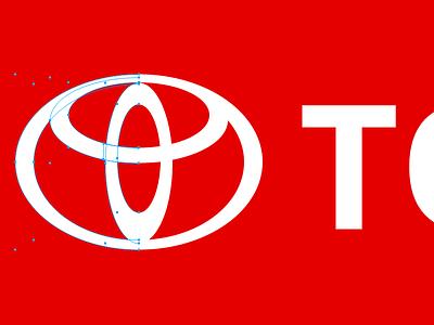 Playing with logos :) toyota experiment logo vectors illustration gravitapp gravit